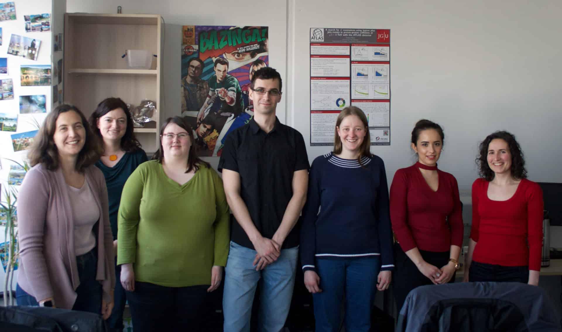 Research group of professor Lucia Masetti